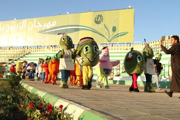 فعاليات كرنفال الجوف في مهرجان الزيتون (2)