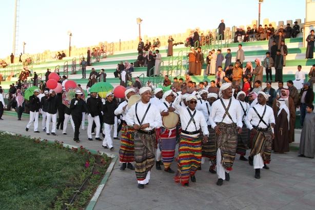 فعاليات كرنفال الجوف في مهرجان الزيتون (4)
