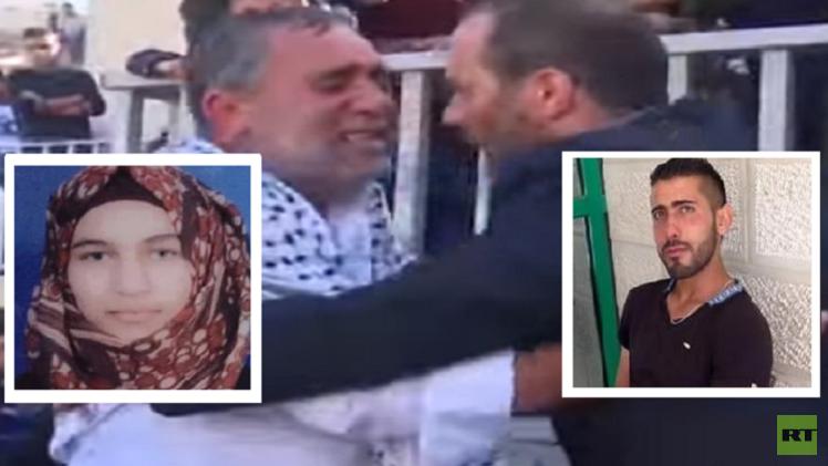 فلسطين حفل زفاف لـشهيد وشهيدة