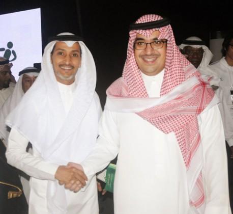 فهد إبراهيم والامير نواف