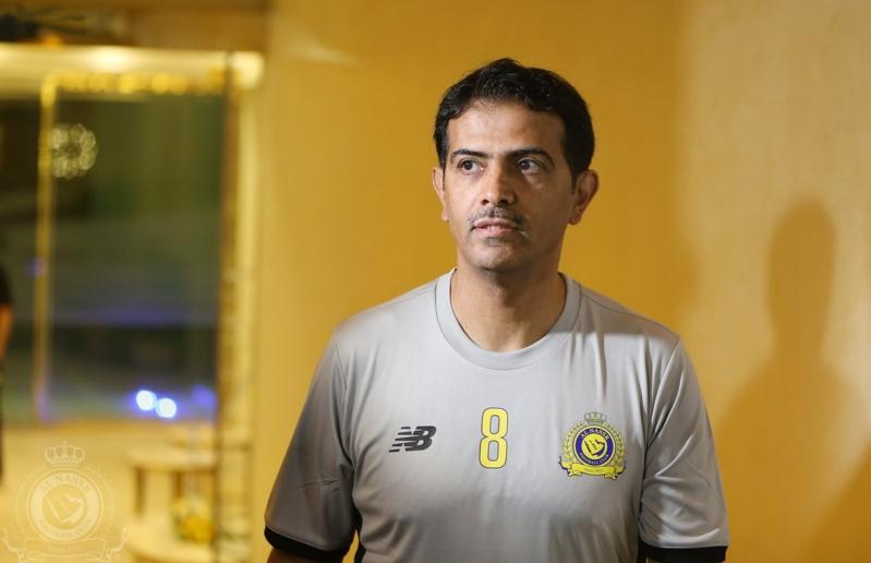 فهد الهريفي يتدرب في النصر قبل مباراة اعتزاله 5