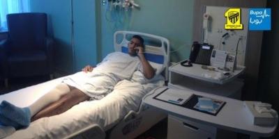 فواز القرني يُجري عملية جراحية في لندن