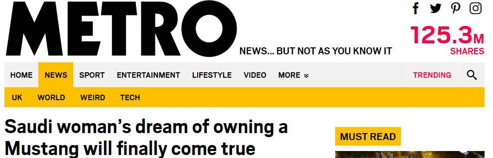 فورد تحقق حلم مواطنة ستينية بامتلاك سيارة موستانج