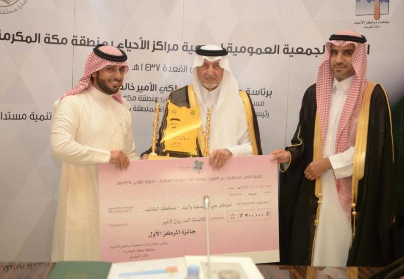 فوز 9 أحياء بجائزة الأمير عبدالمجيد للأحياء المثالية (9)