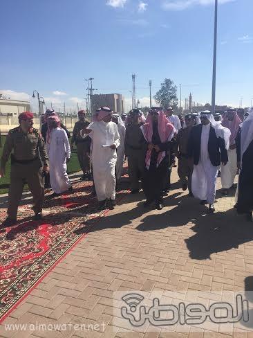فيصل بنً خالد يتفقد مشاريع ابها وخميس مشيط صباح اليوم12