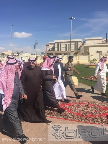 فيصل بنً خالد يتفقد مشاريع ابها وخميس مشيط صباح اليوم14
