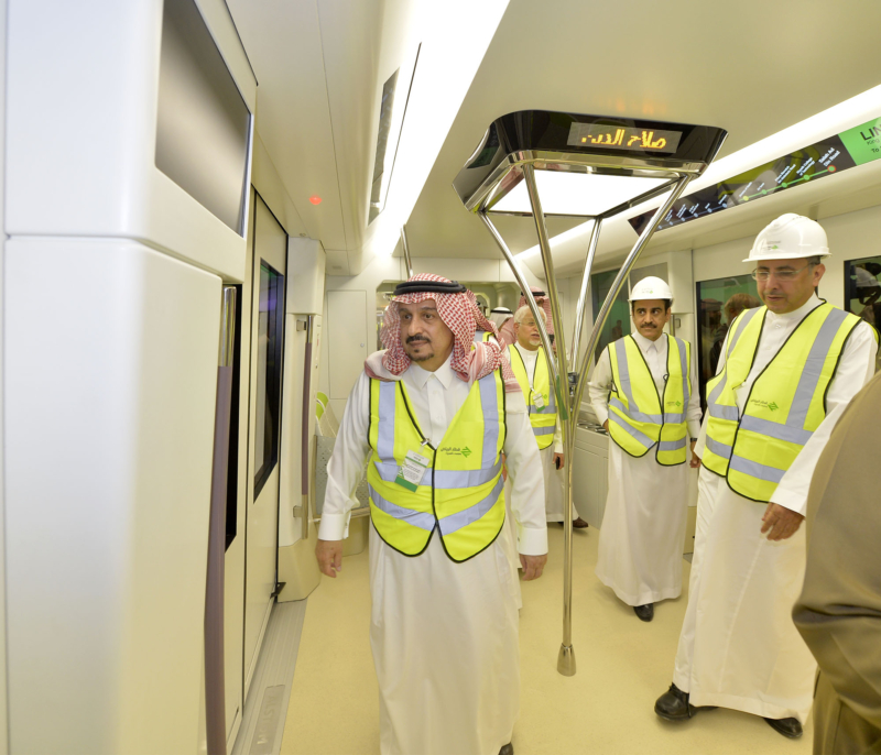 فيصل بن بندر يعلن اكتمال 36 % من قطار الرياض والإنتهاء بعد عامين (168140766) 