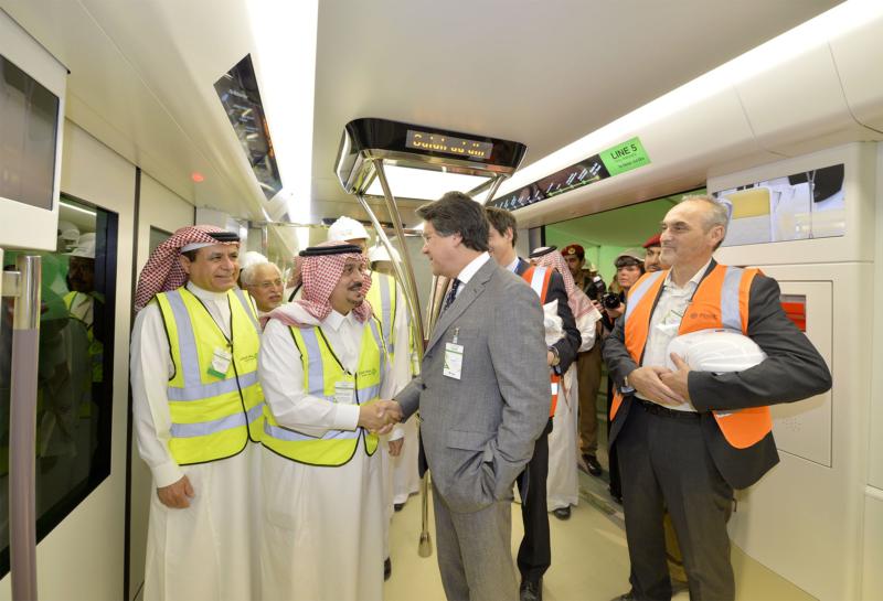 فيصل بن بندر يعلن اكتمال 36 % من قطار الرياض والإنتهاء بعد عامين (168140767) 