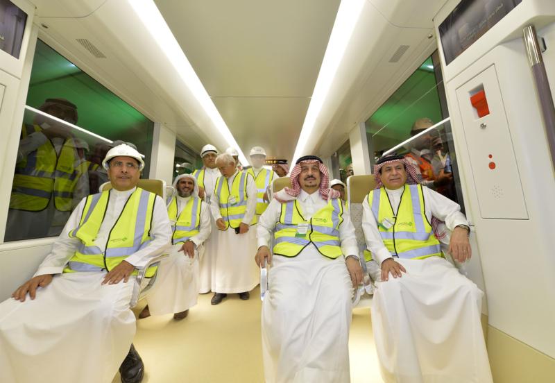 فيصل بن بندر يعلن اكتمال 36 % من قطار الرياض والإنتهاء بعد عامين (168140769) 