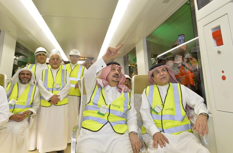 فيصل بن بندر يعلن اكتمال 36 % من قطار الرياض والإنتهاء بعد عامين (168140770) 