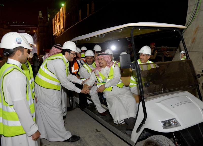 فيصل بن بندر يعلن اكتمال 36 % من قطار الرياض والإنتهاء بعد عامين (168140788) 