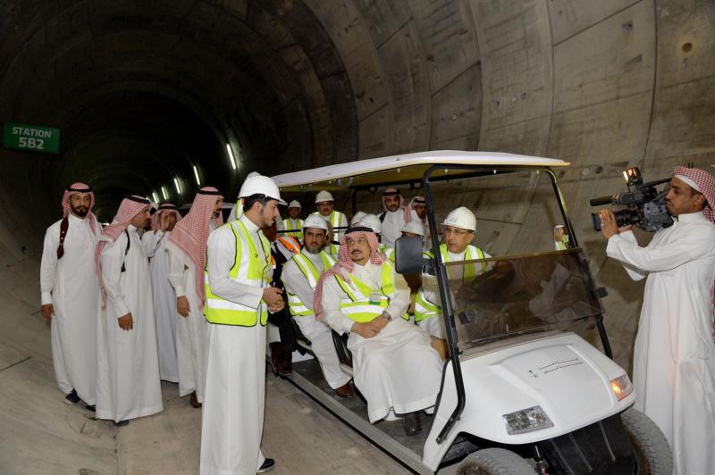 فيصل بن بندر يعلن اكتمال 36 % من قطار الرياض والإنتهاء بعد عامين (168140791) 