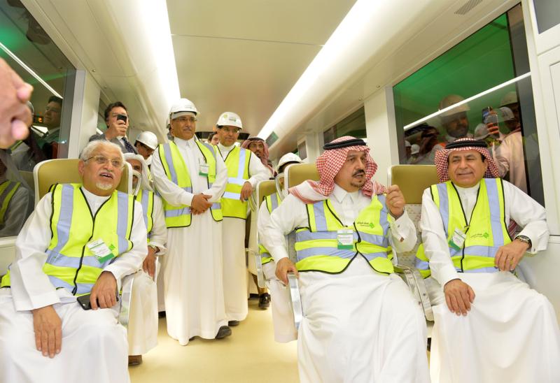 فيصل بن بندر يعلن اكتمال 36 % من قطار الرياض والإنتهاء بعد عامين (168140797) 