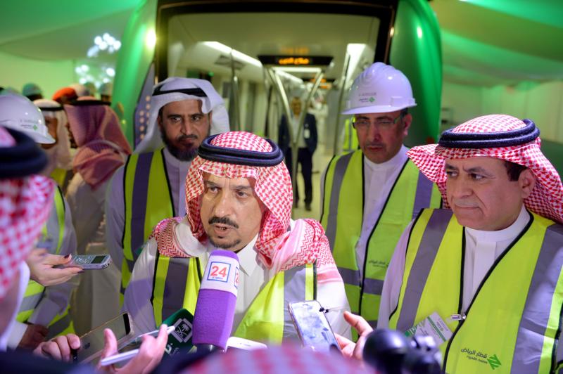 فيصل بن بندر يعلن اكتمال 36 % من قطار الرياض والإنتهاء بعد عامين (168140798) 