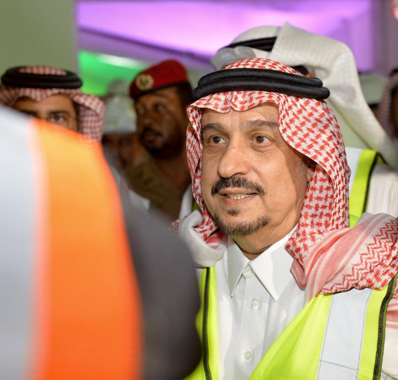 فيصل بن بندر يعلن اكتمال 36 % من قطار الرياض والإنتهاء بعد عامين (168140801) 