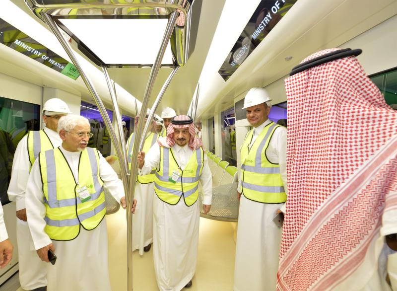 فيصل بن بندر يعلن اكتمال 36 % من قطار الرياض والإنتهاء بعد عامين (168140807) 
