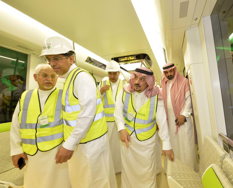 فيصل بن بندر يعلن اكتمال 36 % من قطار الرياض والإنتهاء بعد عامين (168140808) 