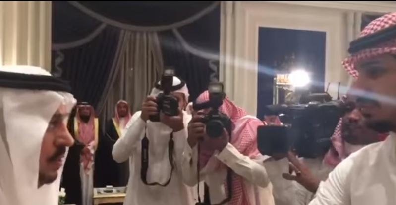 هدية باهظة من فيصل بن بندر لمنقذ محطة الوقود في الرياض