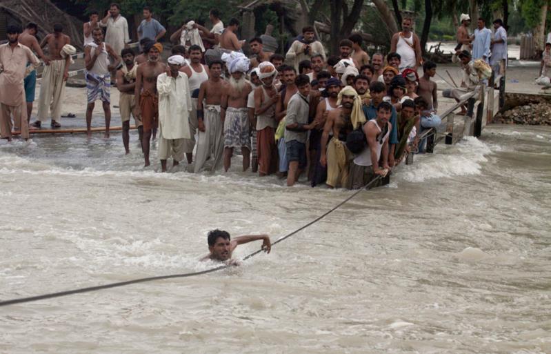 فيضانات باسكتان