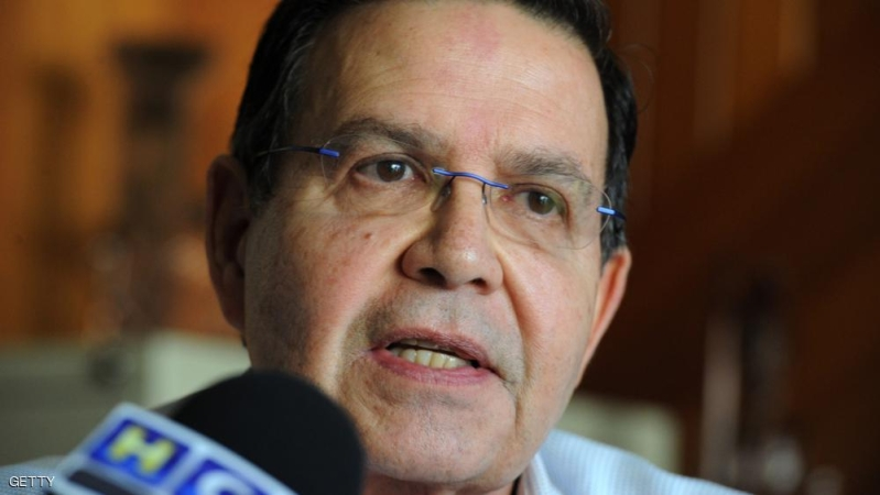 Former Honduran President (1990-1994) and president of Honduras' National Football Federation, Rafael Callejas, answers questions in Tegucigalpa on December 3, 2015. An international warrant --including Callejas--was issued by the US on December 3, 2015. Several senior FIFA officials from the past or present were among 16 more people indicted by US authorities on Thursday as the corruption scandal rocking football's governing body widened. AFP PHOTO / Orlando SIERRA / AFP / ORLANDO SIERRA        (Photo credit should read ORLANDO SIERRA/AFP/Getty Images)