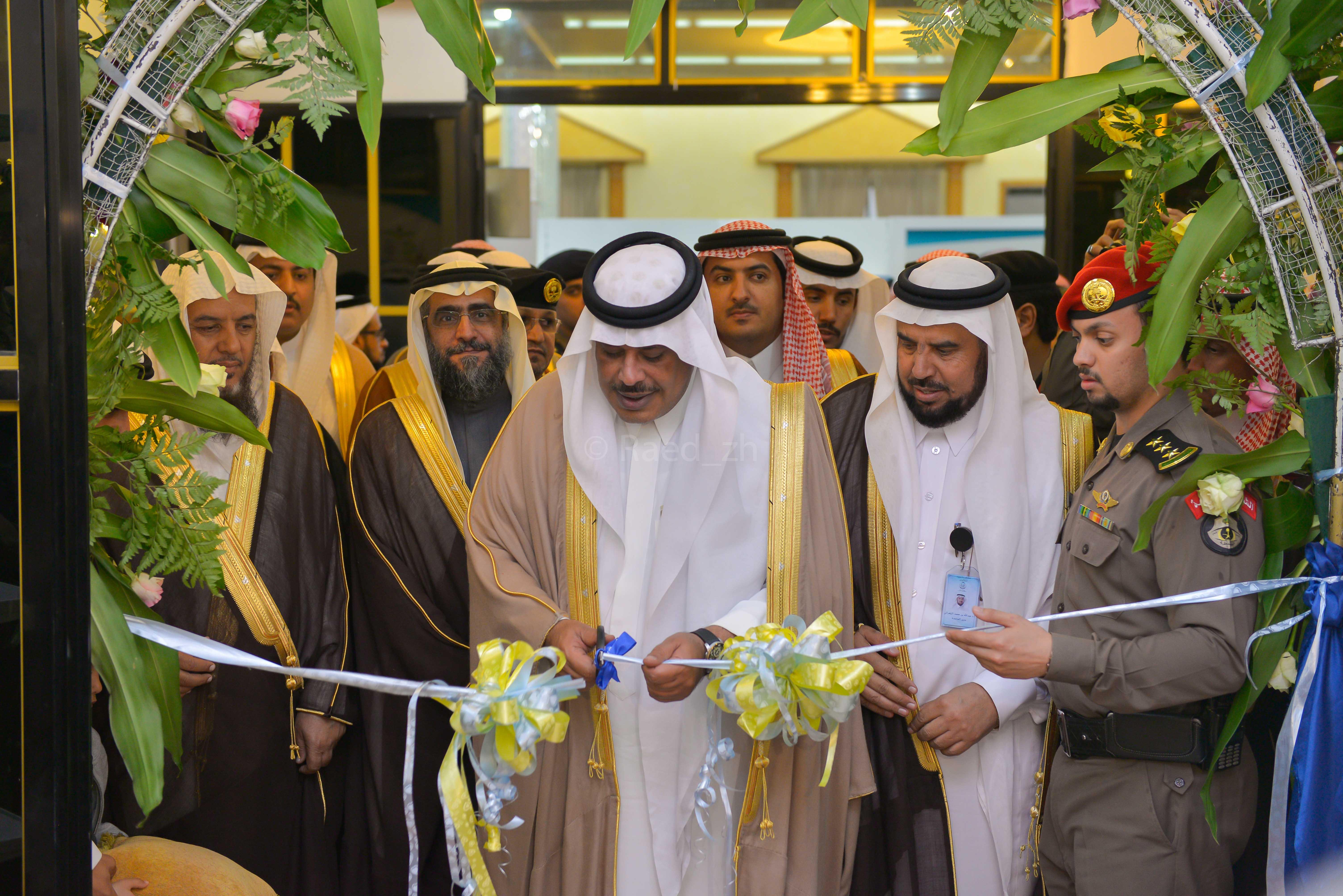في #الباحة.. افتتاح معرض الكتاب الثاني بحضور أمير المنطقة (1)