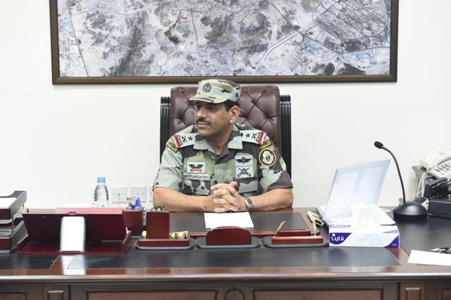 قائد أمن الحج بعد جولة على قيادة قوات أمن المرور (1)