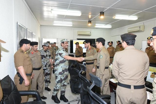 قائد أمن الحج بعد جولة على قيادة قوات أمن المرور (2)