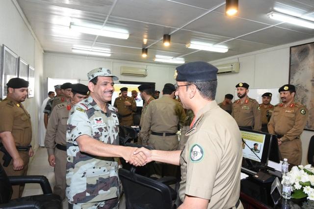 قائد أمن الحج بعد جولة على قيادة قوات أمن المرور (3)