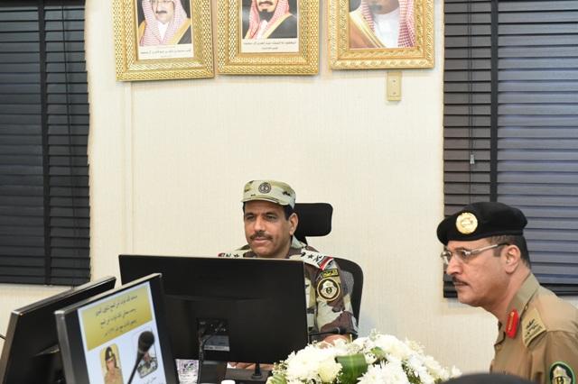 قائد أمن الحج بعد جولة على قيادة قوات أمن المرور (4)