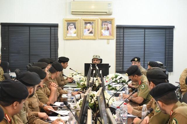 قائد أمن الحج بعد جولة على قيادة قوات أمن المرور (5)