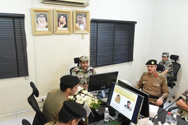 قائد أمن الحج بعد جولة على قيادة قوات أمن المرور (6)