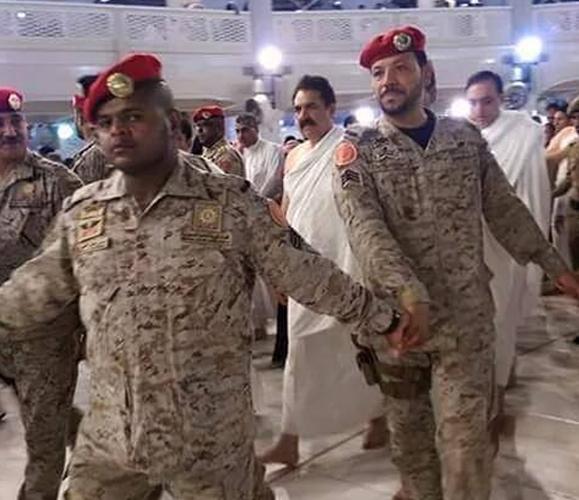 قائد الجيش الباكستاني يؤدي مناسك العمرة (5)