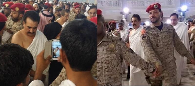 قائد الجيش الباكستاني يؤدي مناسك العمرة (6)