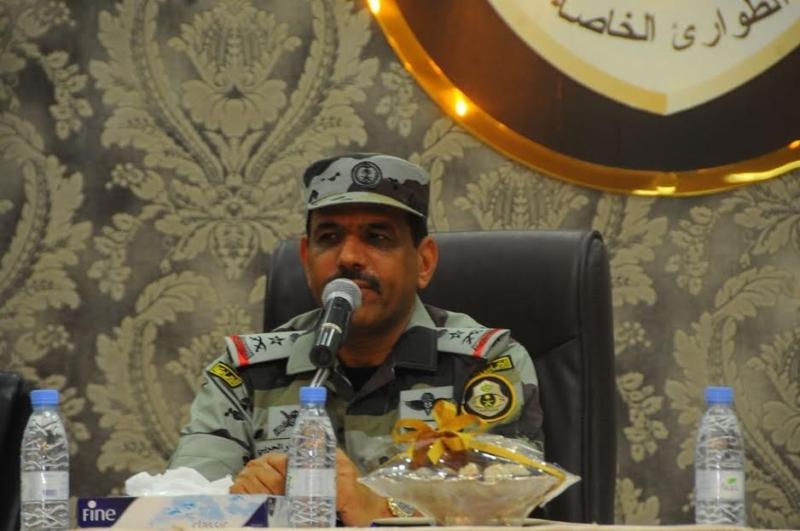 قائد قوات أمن الحج يجتمع بمنسوبي الطوارئ الخاصة 10