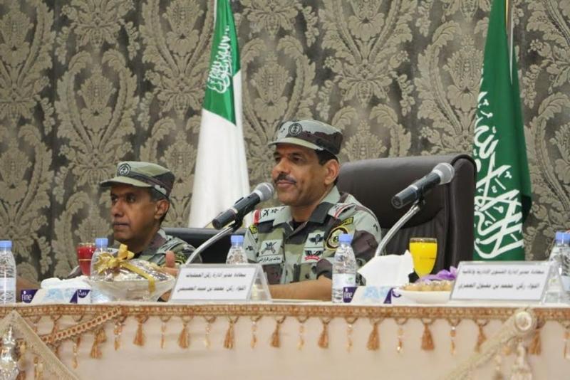 قائد قوات أمن الحج يجتمع بمنسوبي الطوارئ الخاصة 8