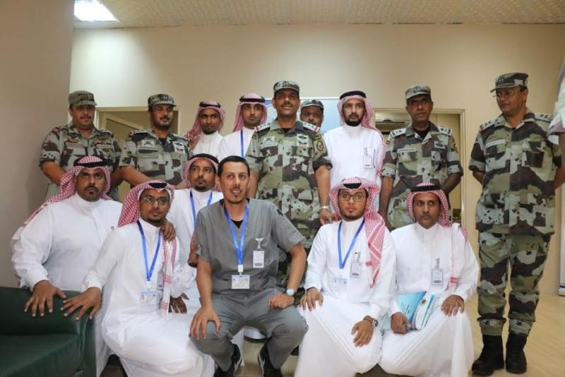 قائد قوات أمن الحج يجتمع بمنسوبي الطوارئ الخاصة 9