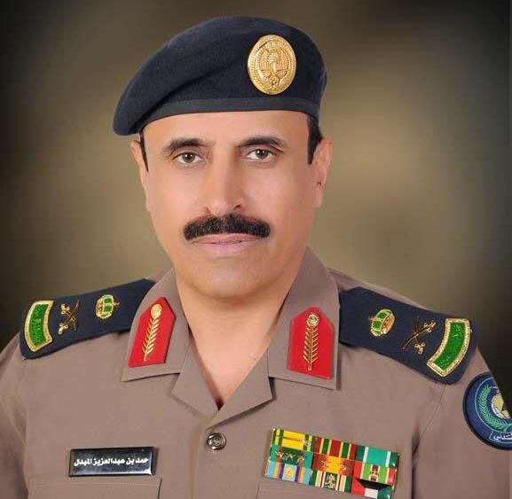 قائد قوات الدفاع المدني بالحج اللواء حمد بن عبدالعزيز المبدل