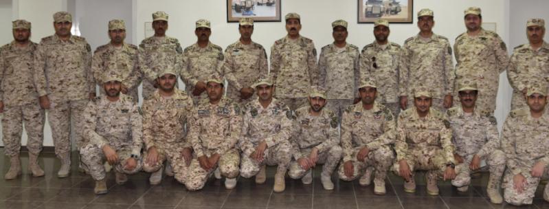 قائد لواء الأمن الخاص الأول بالحرس الوطني اللواء ركن سعيد بن منير الروقي 1