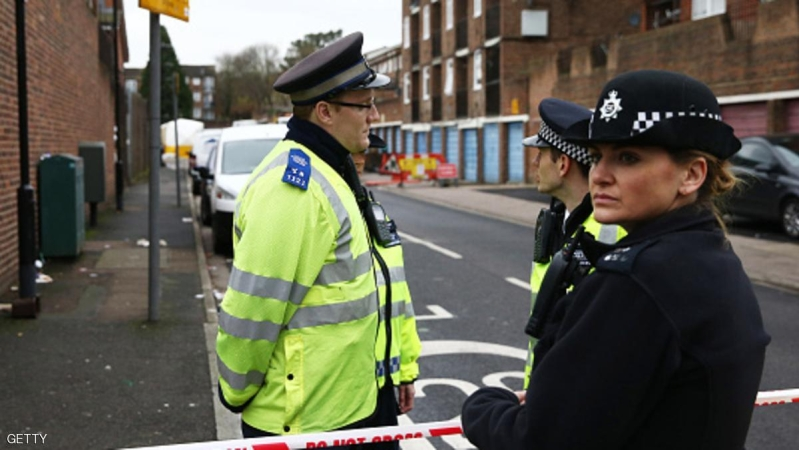 LONDON, ENGLAND - DECEMBER 11:  Police officers work at the scene where a man was shot by police officers on December 11, 2015 in Wood Green, London, England. The man was shot by police in what Scotland Yard has described as an 'intelligence-led operation'.  (Photo by Carl Court/Getty Images)