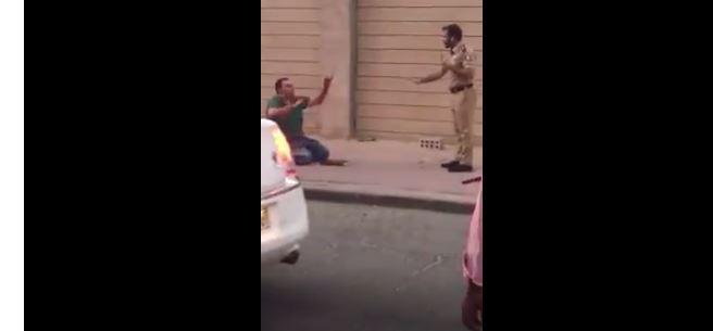 بالفيديو.. لحظة القبض على قاتل زوجته أمام طفليها بالكويت في حالة هيستيرية