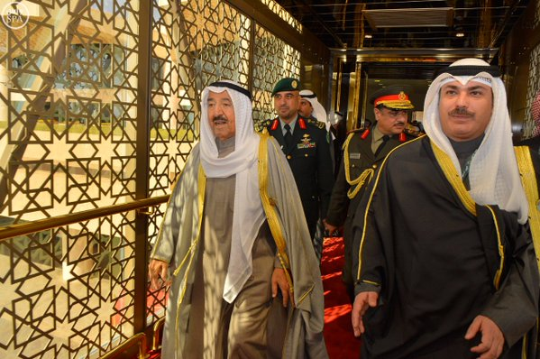 قادة الخليج يغادرون الرياض1