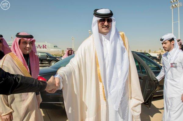 قادة الخليج يغادرون الرياض4