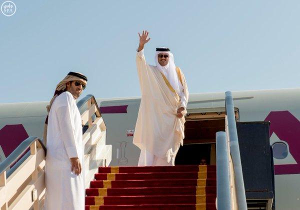 قادة الخليج يغادرون الرياض5