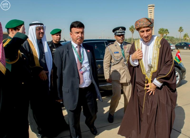 قادة الخليج يغادرون الرياض8