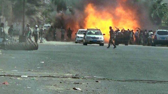 قاعدة عسكرية في عدن