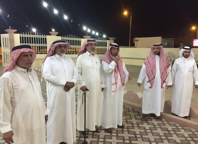 قبيلة بني جهم تكرم رجال الجيش السعودي