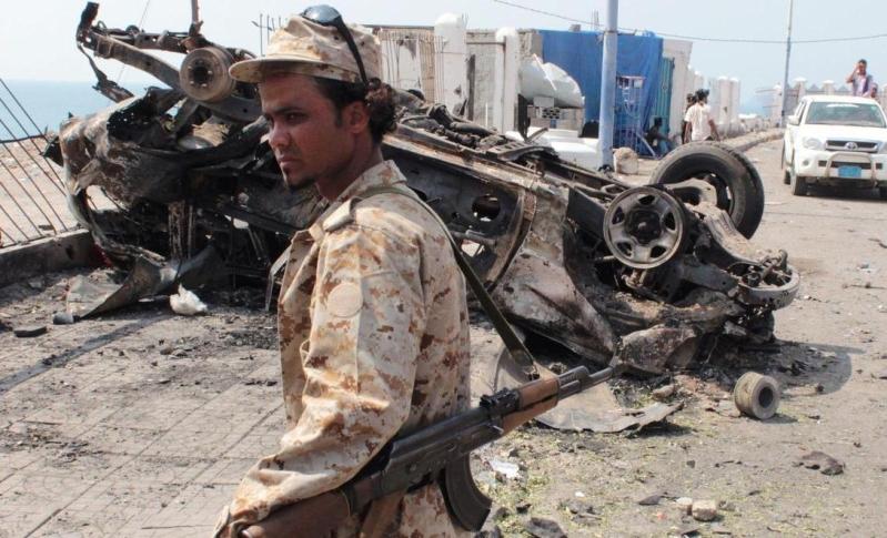 قتلى بهجوم على سيارة شرطة في عدن