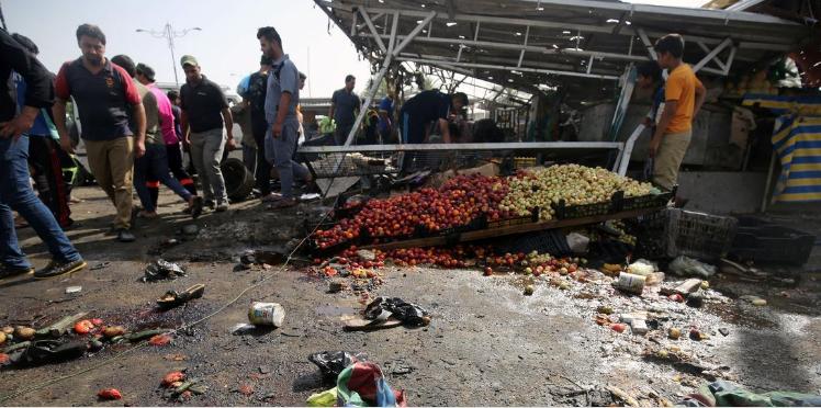 قتلى ومصابون بهجوم على سوق عراقية