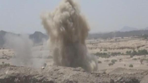 قصف-حوثيين-بجازان