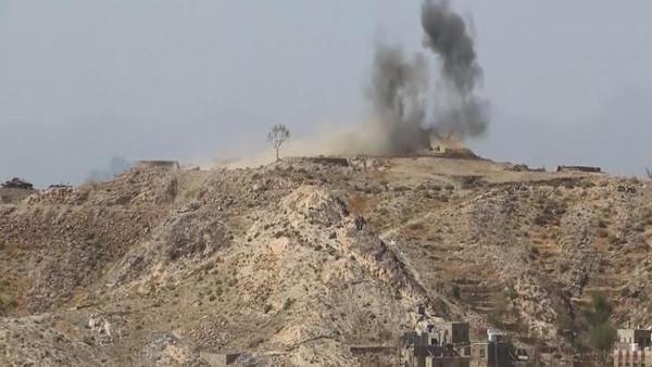 قصف حوثيين